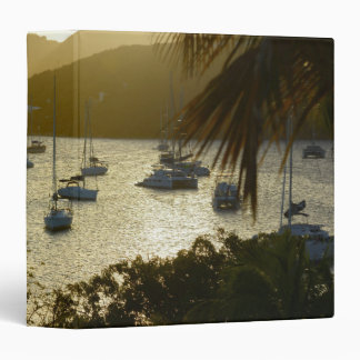 Catamarans and sailboats vinyl binder