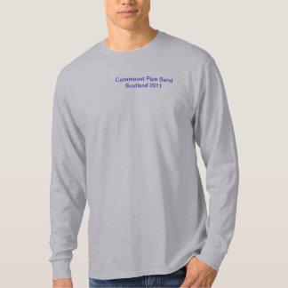 Catamount Pipe Band Scotland 2011 T-Shirt