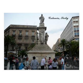 Catania, Piazza Vincenzo Bellini Postcard