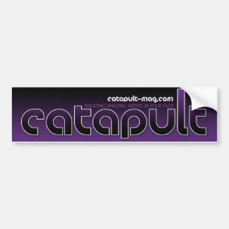 Catapult Standard Bumper Sticker