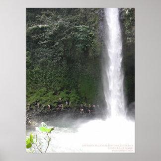 Catarata Falls near Fortuna, Costa Rica Poster