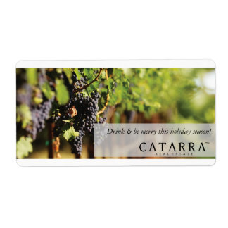 Catarra wine label
