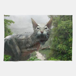 Catasaurus Rex Kitchen Towel