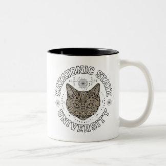 Catatonic State Feline Cat Coffee Mug