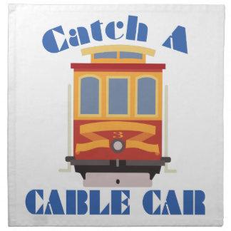 Catch A Cable Car Napkin