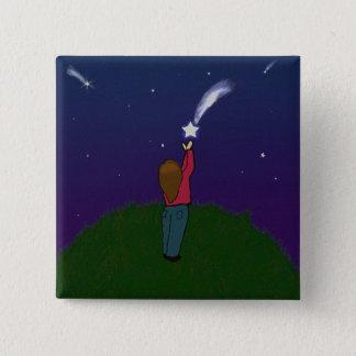 Catch a Falling Star 2 Inch Square Button