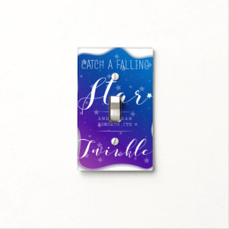 Catch a Falling Star Light Switch Cover