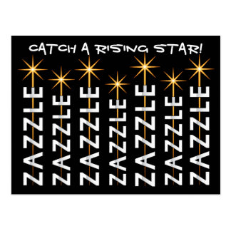 CATCH A RISING STAR! POSTCARD