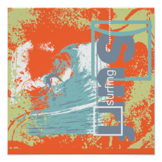Catch a Wave Surfing T shirts and Gifts Print