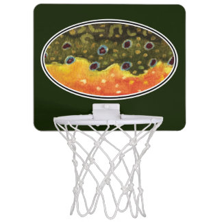 Catch and Release Fishing Mini Basketball Hoop