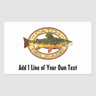 Catch and Release Fishing Sticker