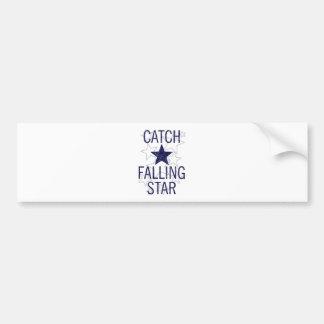 catch falling star bumper sticker