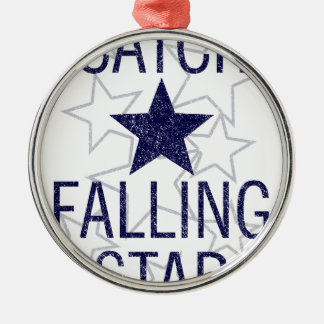 catch falling star metal ornament