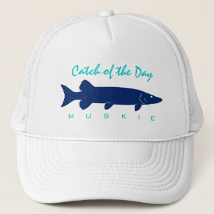 3f4a8316ca278 Catch of the Day - Muskie Fishing Hat