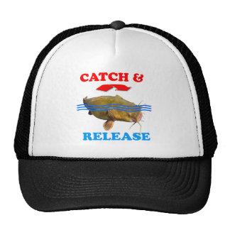 Catch & Release Catfish Trucker Hats