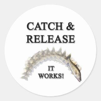 Catch & Release Classic Round Sticker