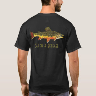 Catch & Release Trout Fly Fishing T-Shirt