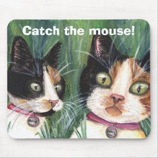 Catch the Mouse Mouse Pad