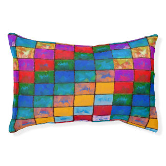 Catch the Rainbow Small Dog Bed