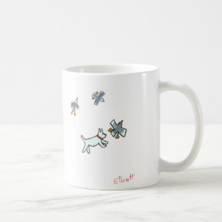 Catch the seagull - now! basic white mug