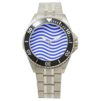 CATCH THE WAVE - BLUE COBBLER ~ ~ WRISTWATCHES