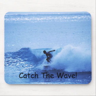 Catch The Wave! Mouse Pad