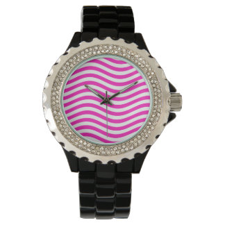 CATCH THE WAVE - NEON PINK ~~ WRISTWATCHES