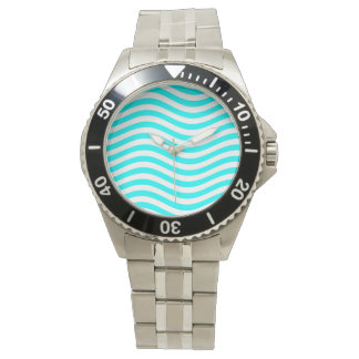 CATCH THE WAVE - PASTEL MINT ~ ~ WRIST WATCHES
