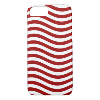 CATCH THE WAVE - RED ~ ~ iPhone 7 CASE