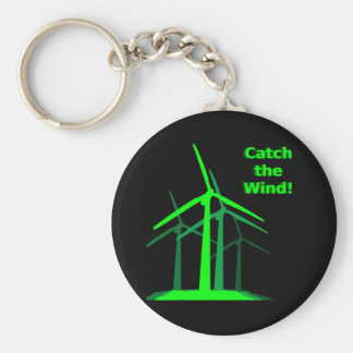 Catch The Wind! Keychain