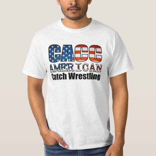"""Catch Wrestling CACC """"Catch as Catch Can"""" American T-Shirt"""