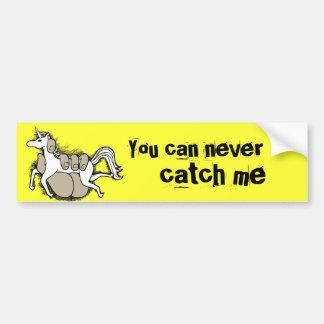 Catch your own unicorn bumper sticker