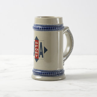 CATCHES THE USA SPORT BEER STEIN