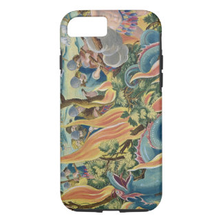 Catching Serpents in India Using Clubs and Torches iPhone 7 Case
