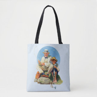 Catching the Big One Tote Bag