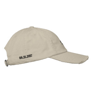 """Catching the """"UMBRA"""" (MOON SHADOW) 08.21.17 Embroidered Hat"""