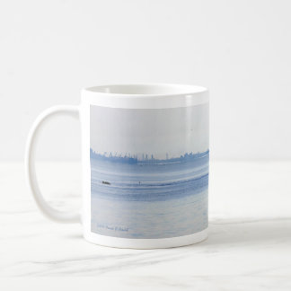 Catching up coffee mug