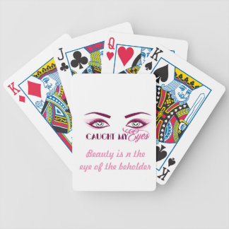 catching your eyes with these playing cards