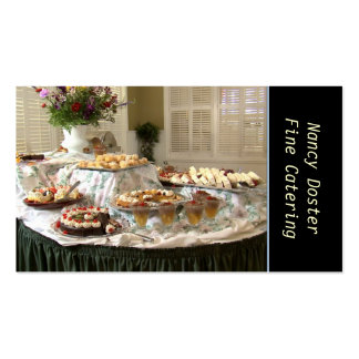 Catering Bakery Pack Of Standard Business Cards