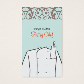 Catering Bakery Pastry Chef Business Card