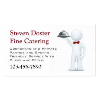 Catering Pack Of Standard Business Cards