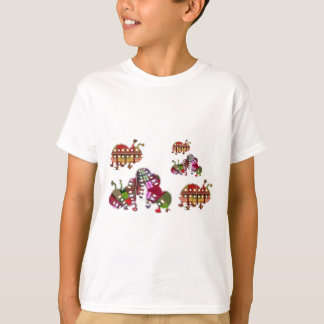 Caterpillar and Ladybug Lady Bug Graphic T-Shirt