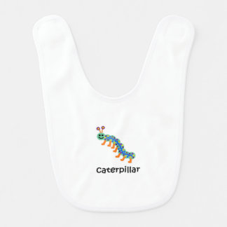Caterpillar Baby Bib