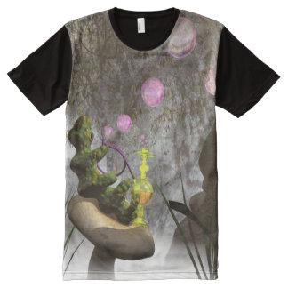 Caterpillar blowing bubbles t-shirt