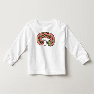 Caterpillar Dreaming (coral) Toddler T-shirt