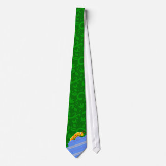 Caterpillar Infestation Tie (Green)