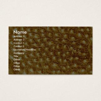 Caterpillar - skin business card