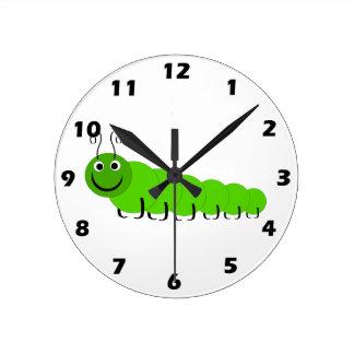 Caterpillar Wall Clock