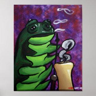 Caterpillars Hooka Poster