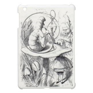 Caterpiller Smokes a Hookah on am ushrooa iPad Mini Case